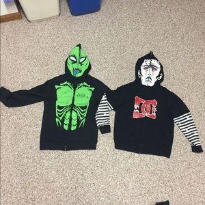 Other - Two full-zip mask sweatshirts LOT